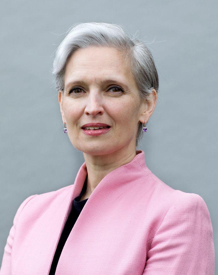 Nadège Rolland: 'Met zijn macht verzekert China zich ervan dat anderen niets meer over het land te zeggen hebben.' Beeld Chantal Heijnen