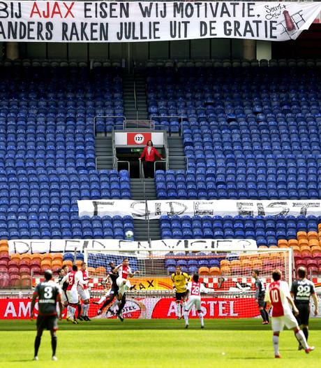 Veensche Boys krijgt tribune met Ajax-zitjes