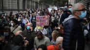 Protest tegen coronamaatregelen groeit in Europa