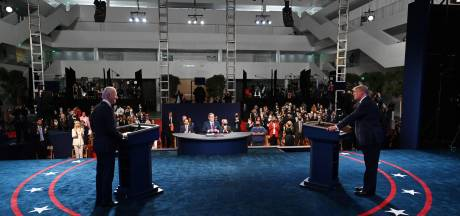 'Stop alsjeblieft, stop, STOP!' Eerste debat Trump en Biden ontspoort