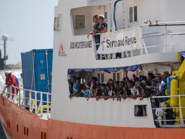 De redders zijn weg op de Middellandse zee: minder migranten, maar overtocht wel gevaarlijker