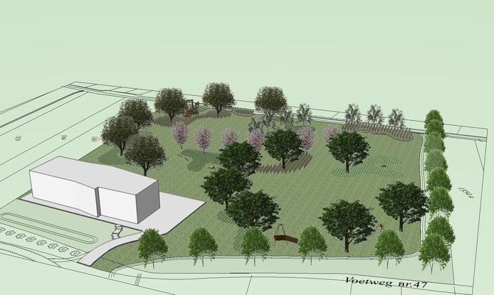 In 2021 zal het Broekpark verder ingericht worden als speel- en ontmoetingsweefsel.