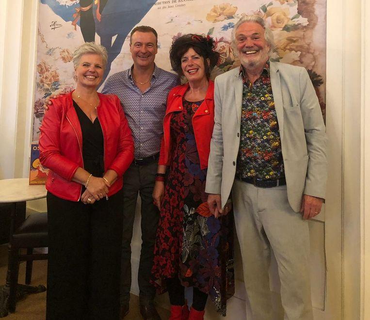 Ronald en Ina Marcus, Nadine Van Gulik en Christian De Gussem organiseren de Art& Lifestylebeurs