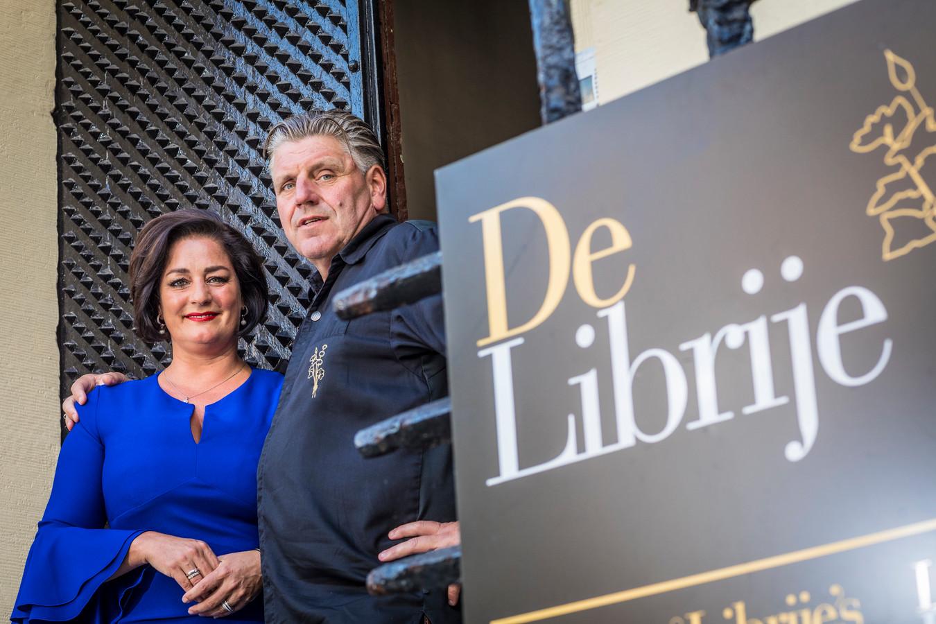 Thérèse en Jonnie Boer van De Librije in Zwolle. Het restaurant staat op de 9e plaats in een internationale ranglijst van vegetarische restaurants.