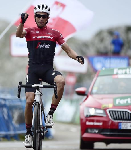 Contador wint op helse klim, Kelderman valt van podium af