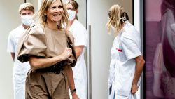 Nederlandse koningin Máxima kiest voor betaalbare H&M-jurk