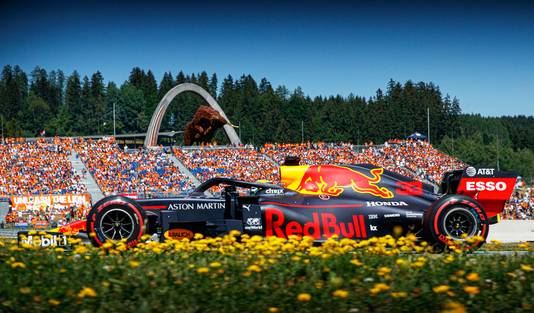 2019: Max Verstappen in actie op de Red Bull Ring in Spielberg.