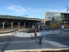 Doop skatepark Hengelo valt in het (regen)water