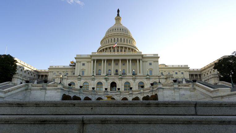 Capitol Hill in Washington DC Beeld ap
