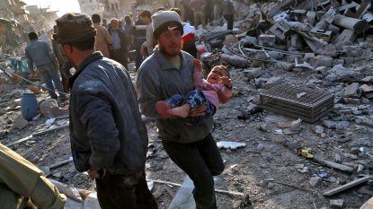 Aantal burgerslachtoffers door bombardementen in jaar tijd bijna verdubbeld