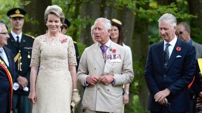 Filip en Mathilde naar verjaardag prins Charles