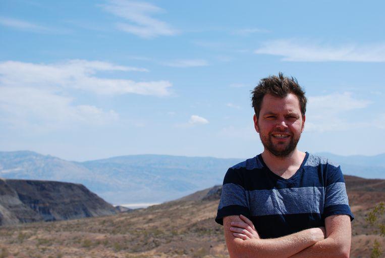 Bryan Lougheed (36), aardwetenschapper bij Laboratoire des Sciences du Climat et de l'Environnement, Frankrijk. Beeld Ingrid Sassenhagen