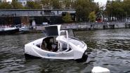"""Test met elektrische watertaxi op kanaal: """"Waterwegen onderbenut om mensen te vervoeren"""""""