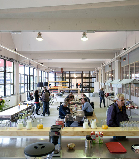 Caffee Allee op Strijp-S in Eindhoven wordt Stories