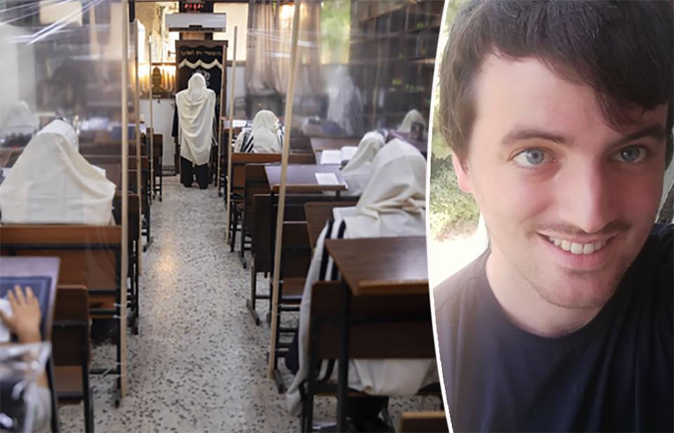 Aalstenaar Thijs Stuyver werkt in Israël. Hij kwam eergisteren terug uit België en mag niet naar zijn appartement in Jeruzalem. Intussen is het hele land in lockdown.
