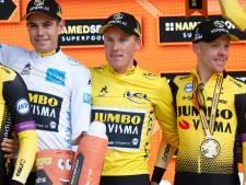 In schaduw van geletruidrager Teunissen deelt Steven Kruijswijk uit Nuenen concurrentie mokerslag uit