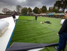 Eindelijk kunstgras voor IJVV IJsselmuiden
