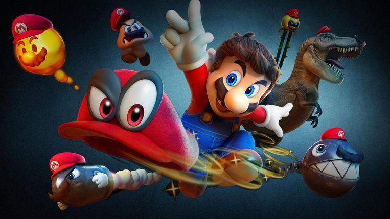 Super Mario Odyssey Beeld