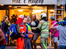Bewoners vol lof over toegesnelde redders bij grote brand seniorencomplex