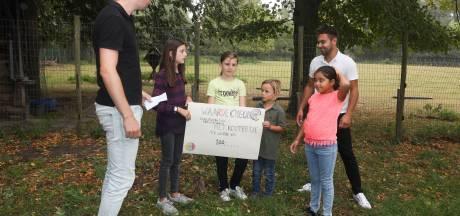 BSO-kinderen in actie voor kinderboerderij Terneuzen