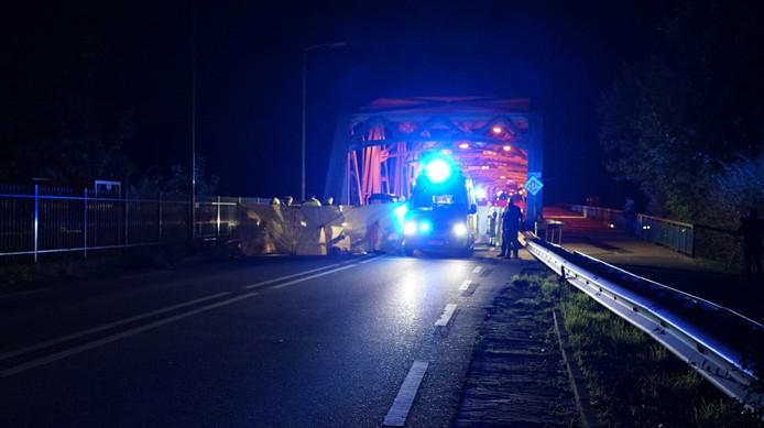 Brug bij Nederasselt afgesloten na ongeval