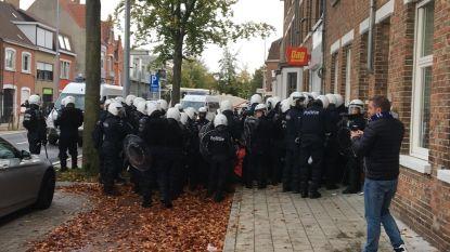 Antwerp-Club Brugge gaat door, met extra (onzichtbare) politie