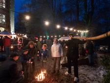 Traditie rond de koepel: Lunteranen nemen voorproefje op de kerst
