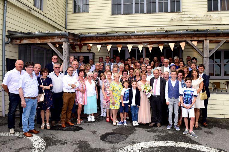De familie Ronsijn vierde een gouden feest.