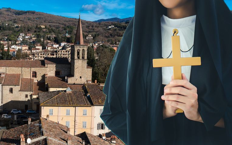 In het Toscaanse stadje Sansepolcro is lokale gemeenschap teleurgesteld dat het klooster moet sluiten.
