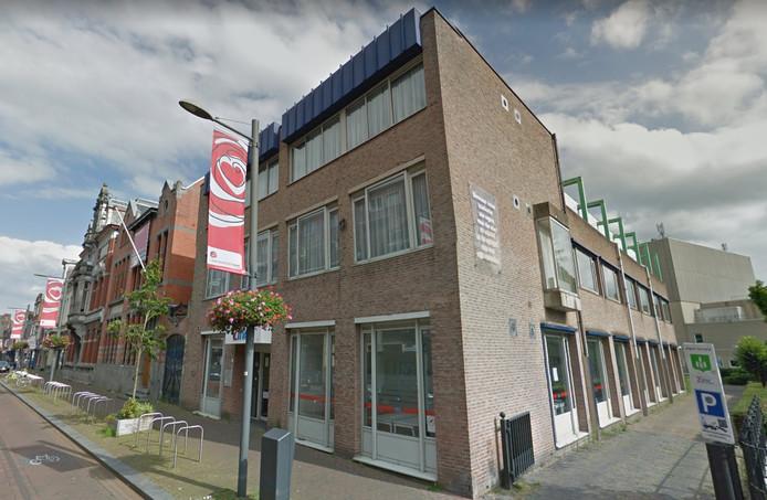 Het pand van Zinc aan de Molenstraat in Roosendaal
