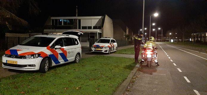 De politie is met meerdere eenheden ter plaatse