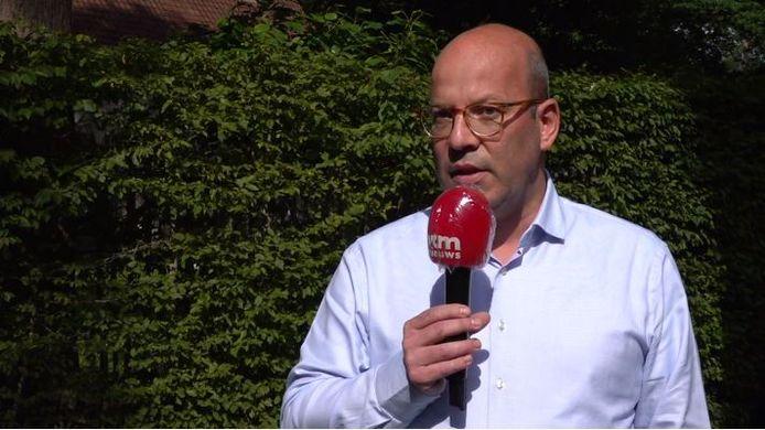 Tom Rombouts, de clubadvocaat van Waasland-Beveren.