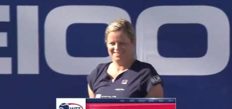 La première victoire de Kim Clijsters depuis son retour