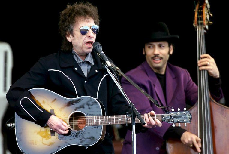 Bob Dylan (L). Beeld reuters