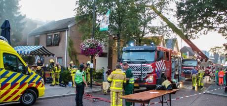 Grote brand Leger des Heils in Beekbergen: vermiste personen zijn terecht