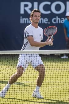 Loodzware loting voor Koolhof en Middelkoop op Wimbledon