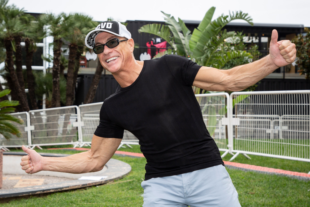 Jean Claude Van Damme is spotted during the MIPCOM in Cannes, France, on October 15, 2018. Photo by Marco Piovanotto/ABACAPRESS.COM Beeld Bruno Press /Abaca Press