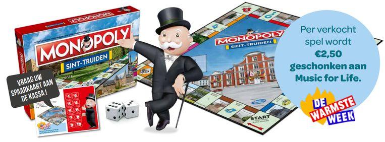 Franchisepartner Gerri Groven bedacht samen met Hasbro een exclusieve Monopoly-stedeneditie van Sint-Truiden.