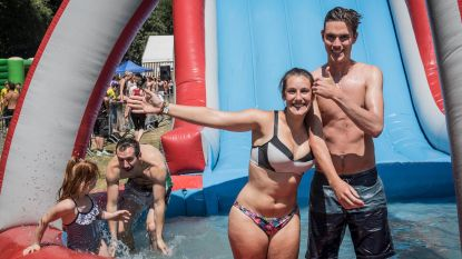 Lopen, springen en zwemmen tijdens Spel zonder Grenzen