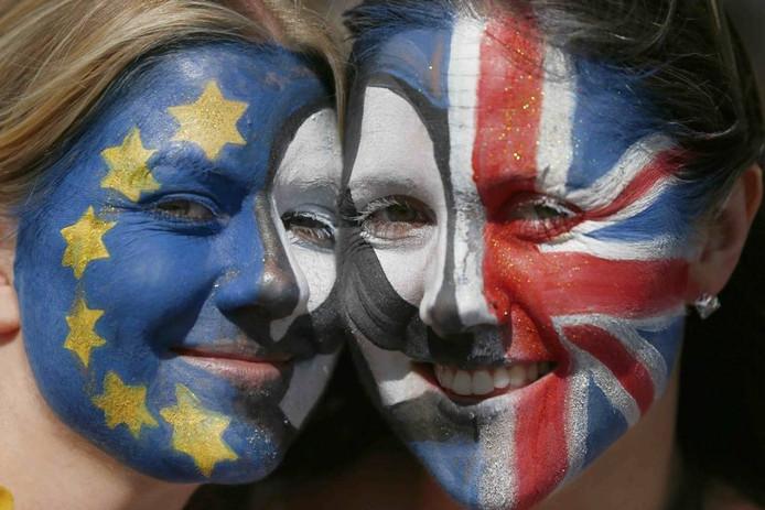 De boodschap van één Europa is niet bij iedereen overgekomen. Foto Neil Hall