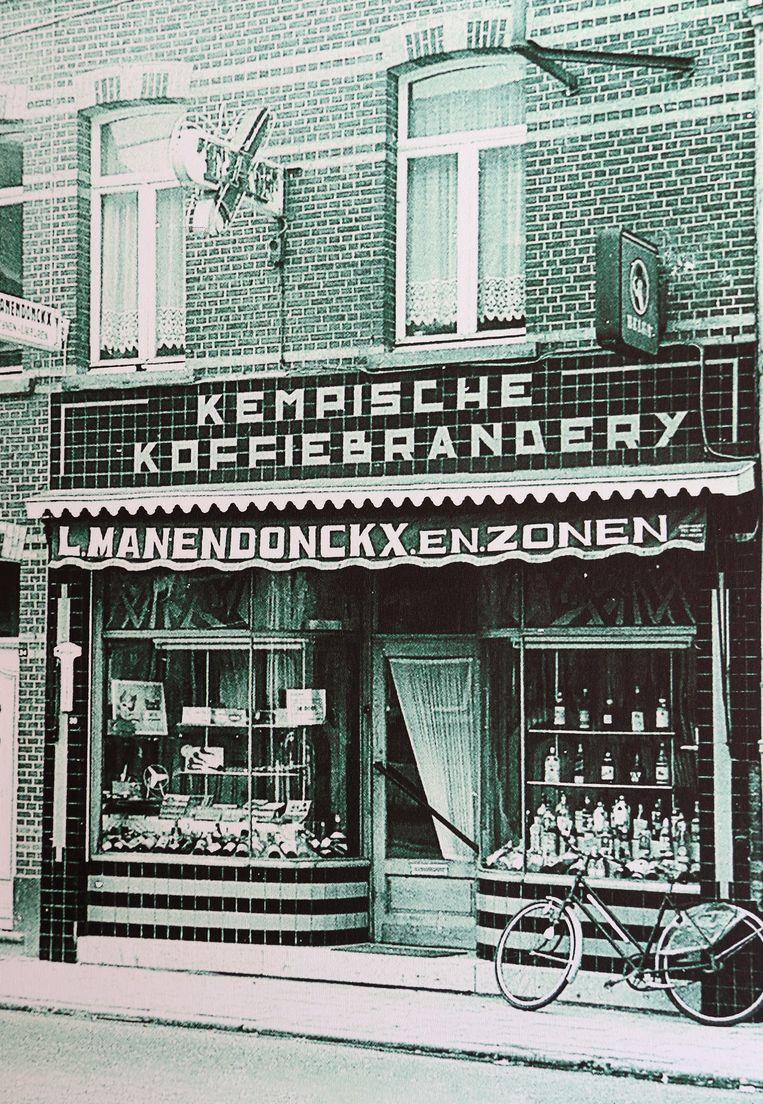 Al van in de jaren '30 wordt in Geel bij de koffiebranderij van de familie Manendonckx Koffie De Maan gemaakt.