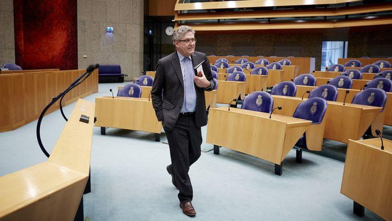 Henk Krol in april vorig jaar in de Tweede Kamer. Beeld null