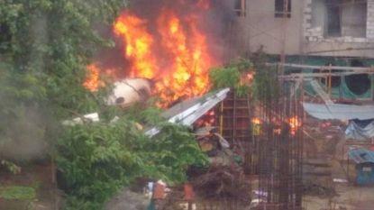 5 slachtoffers na vliegtuigcrash in Mumbai