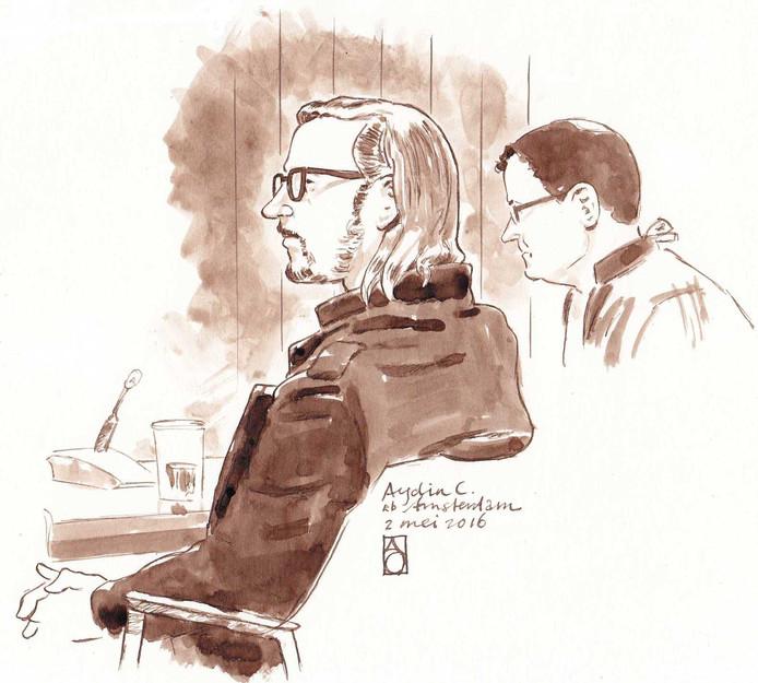 Rechtbanktekening van Aydin C.