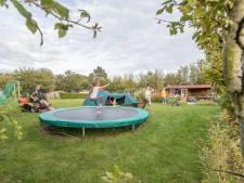 In de tuin van de familie Brasser is genoeg ruimte. 'We kunnen doen waar we zin in hebben'