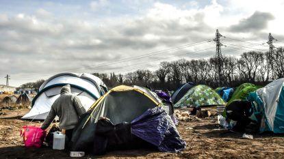 Ontruiming van verschillende kampen in Calais