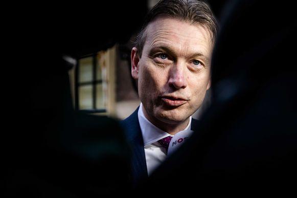 De Nederlandse minister van Buitenlandse Zaken Halbe Zijlstra.