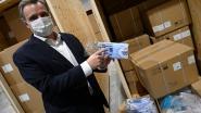 LIVE. Nog geen groen licht voor epidemiebarometer - De Backer presenteert strategische stock van miljoenen mondmaskers