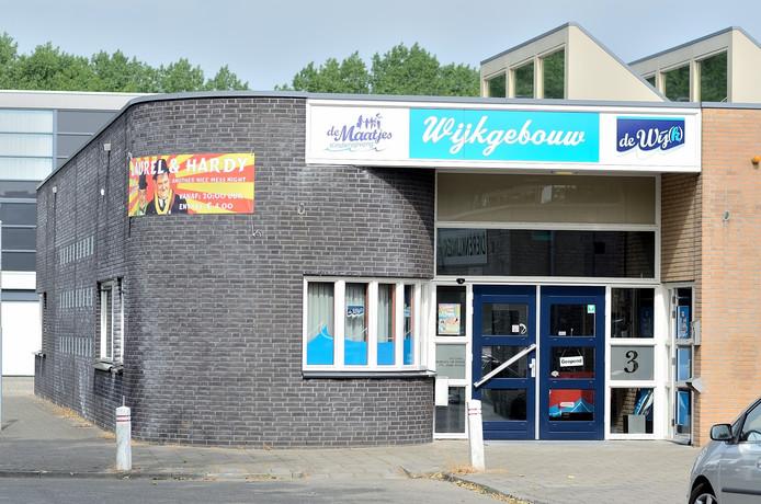 Wijkgebouw aan de Ooitas in Bergen op Zoom.