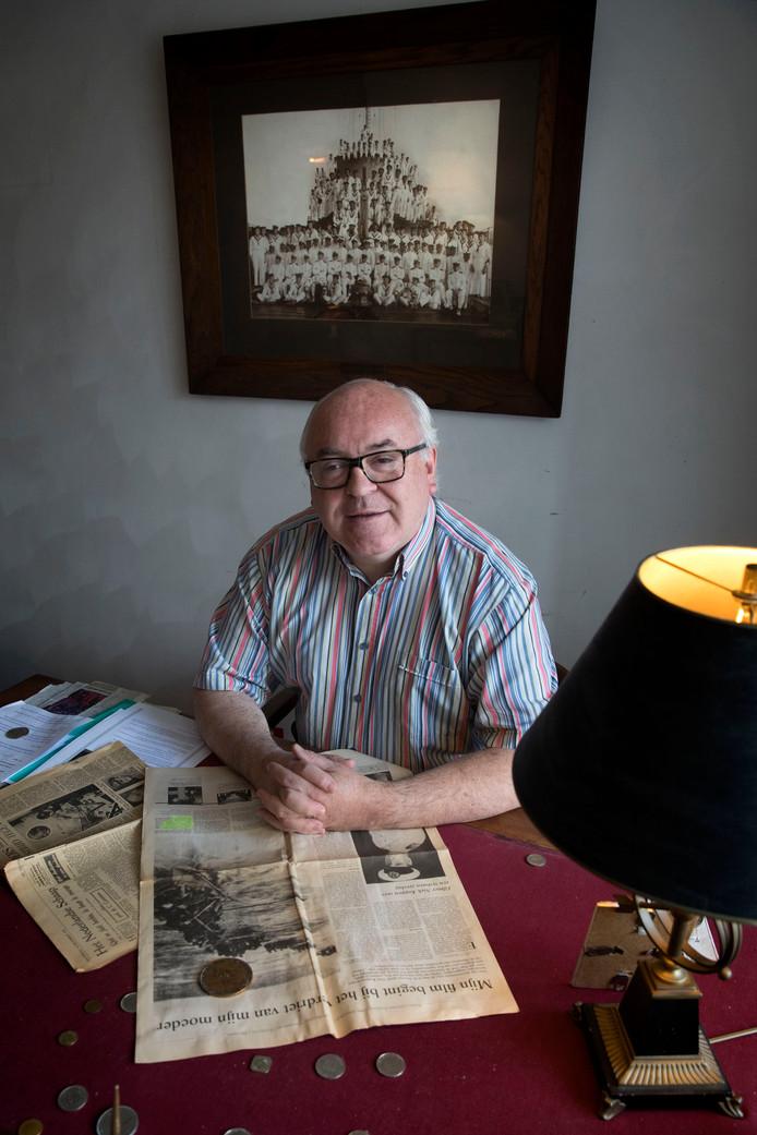 De opa van Piet-Heyn was volgens zijn kleinzoon een held in de slag om de Javazee